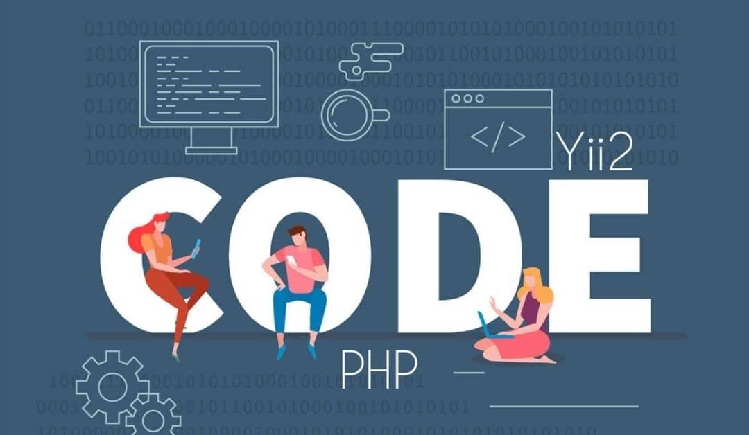 immagine con scritta code e php