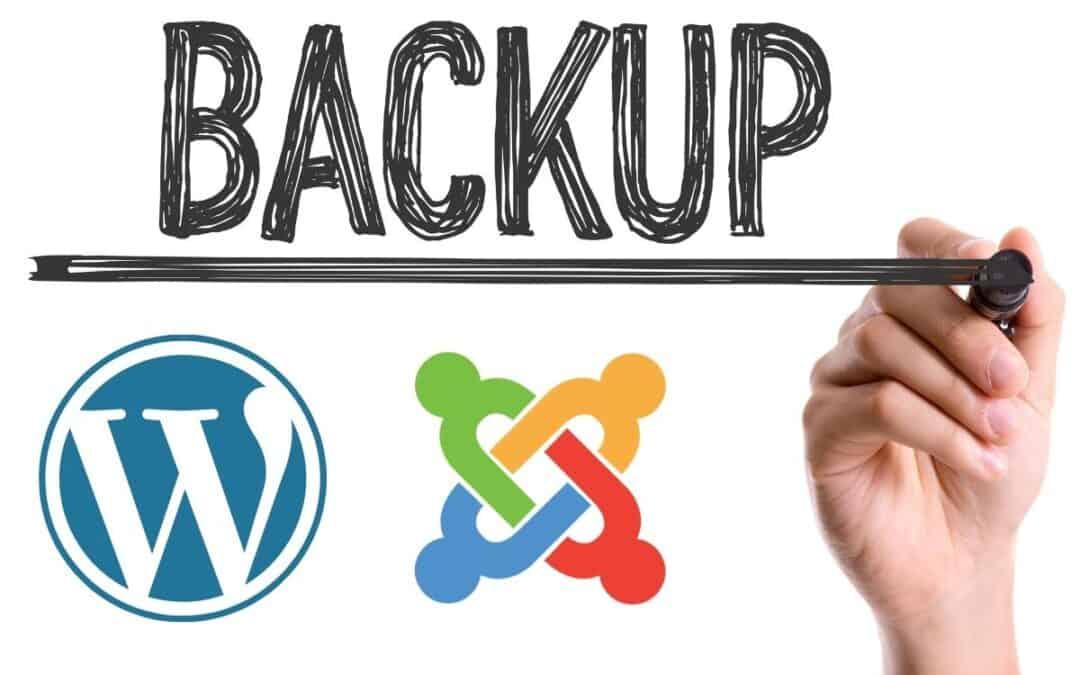 Come fare il backup di un sito WordPress o Joomla