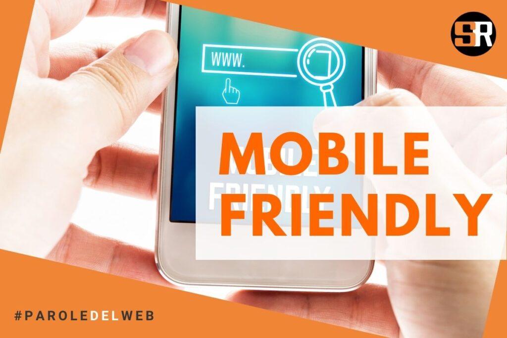 un campo di ricerca mobile friendly